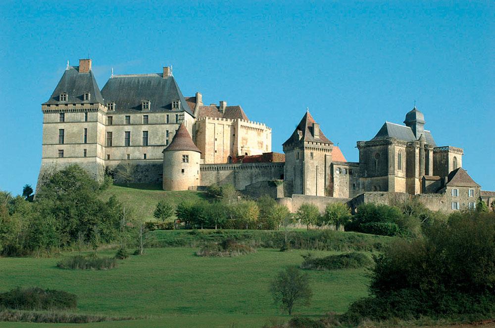 découverte dans châteaux